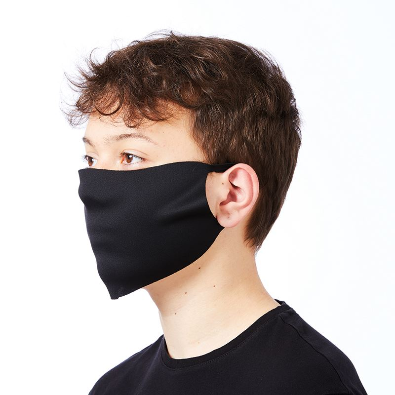 Polyester Face Mask Branded