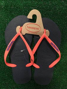 HAVAIANAS PINK/NAVY BLUE