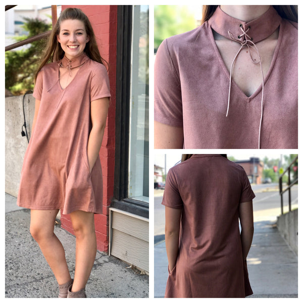 Taupe Dress