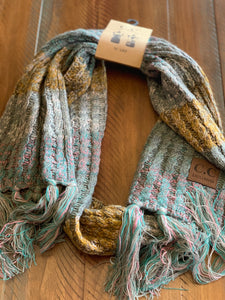 Sweet Sugar Treat Knitted Scarf