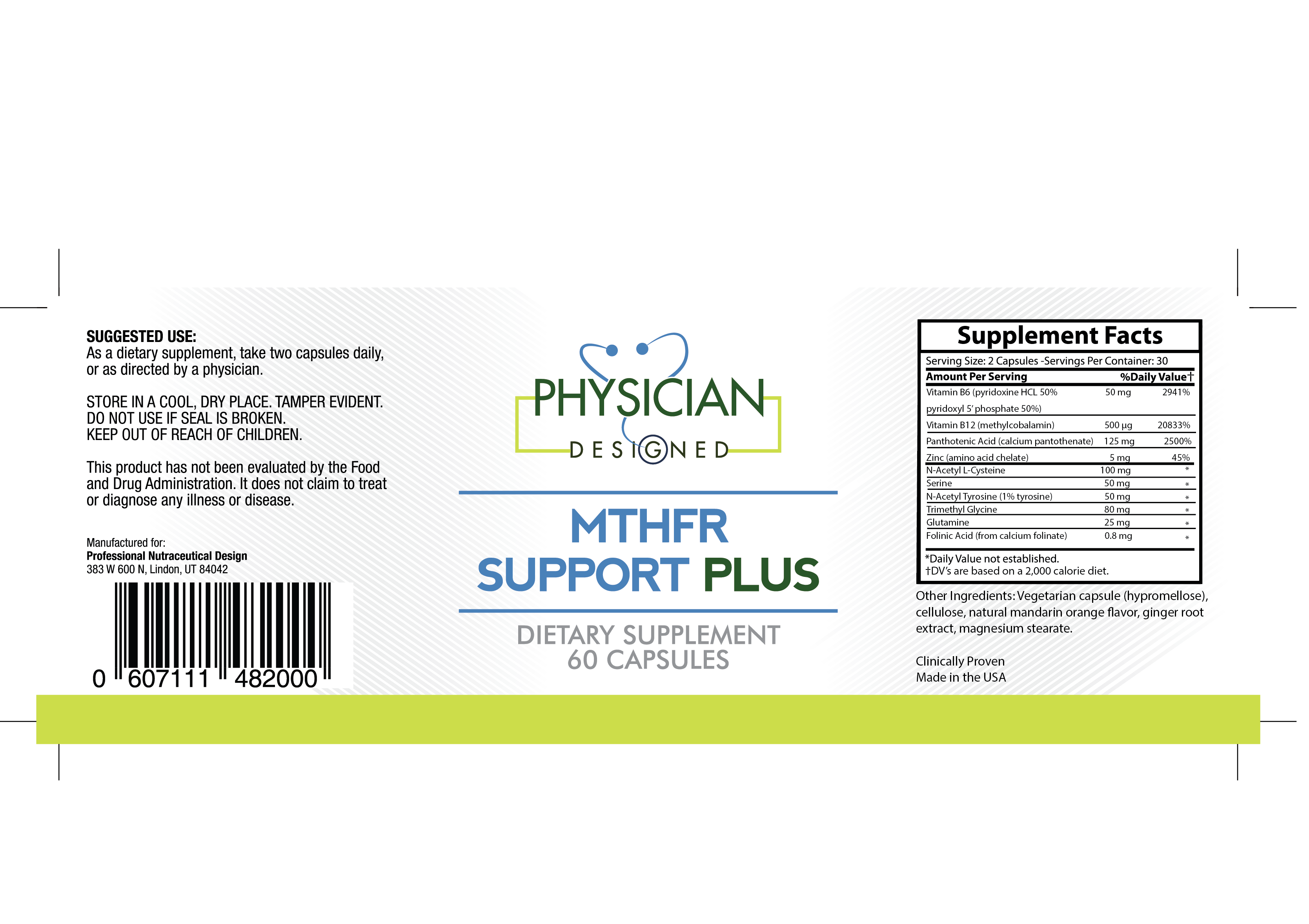 MTHFR Support Plus - Physician Designed