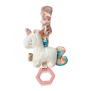 NEW Ritzy Jingle™ Unicorn Attachable Travel Toy