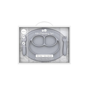 Mini Feeding Set - Pewter