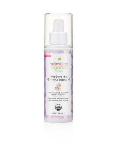 NEW-Nurture Me After Bath Massage Oil