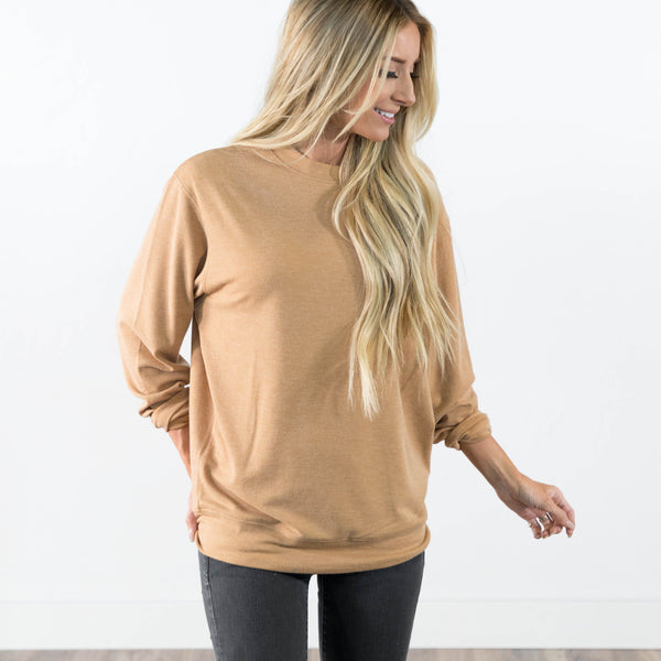 Sherri Top in Almond