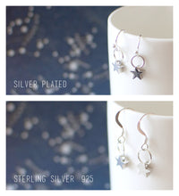 Silver Snail Earrings
