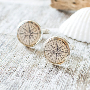 Compass Rose Cufflinks