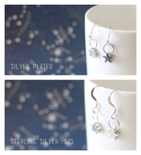 Moon in the Clouds Earrings
