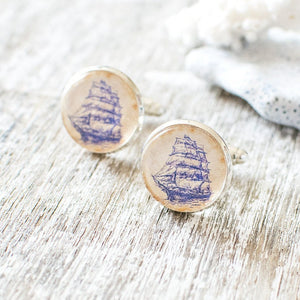 Sailing Ship Cufflinks