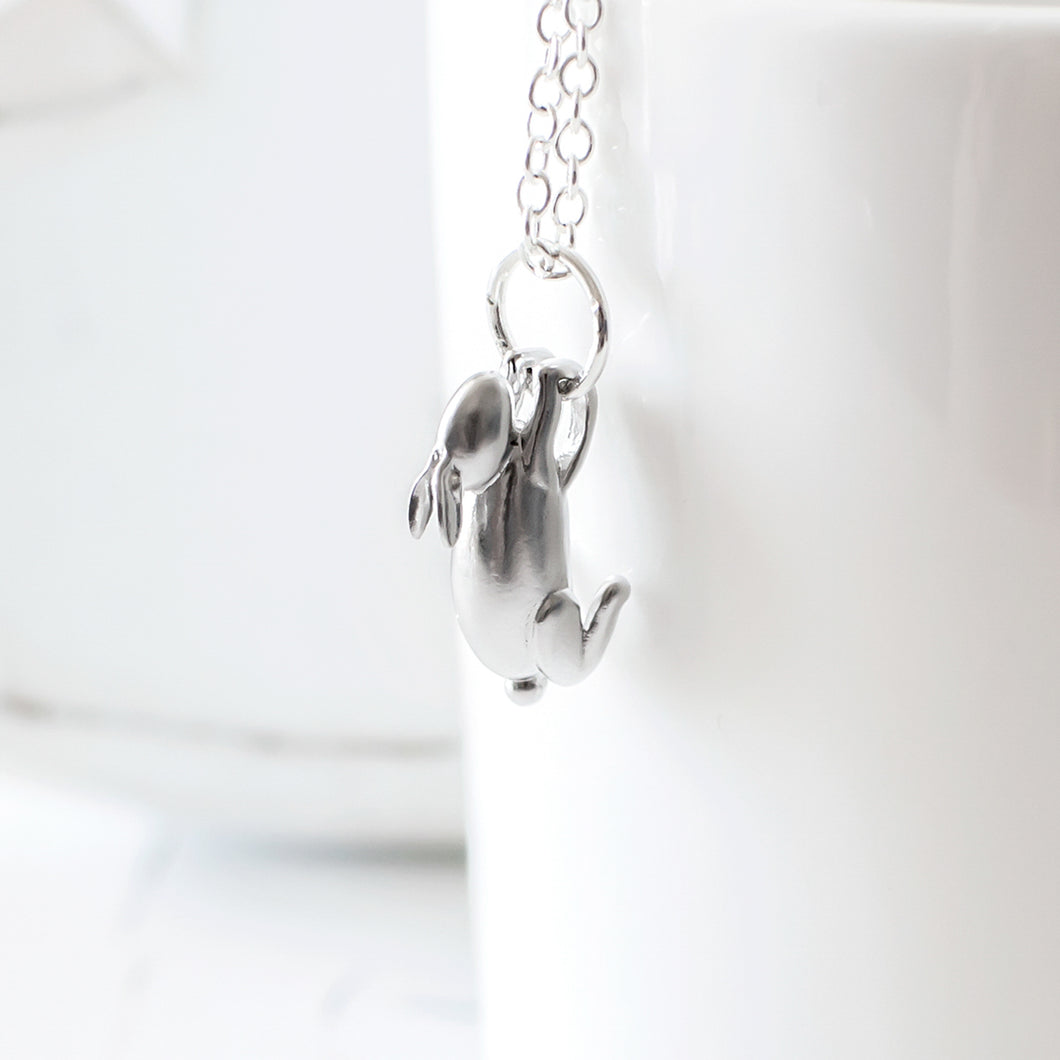 Silver Rabbit Necklace