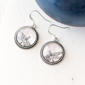Dragonfly Dangle Earrings