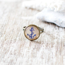 Blue Anchor Ring