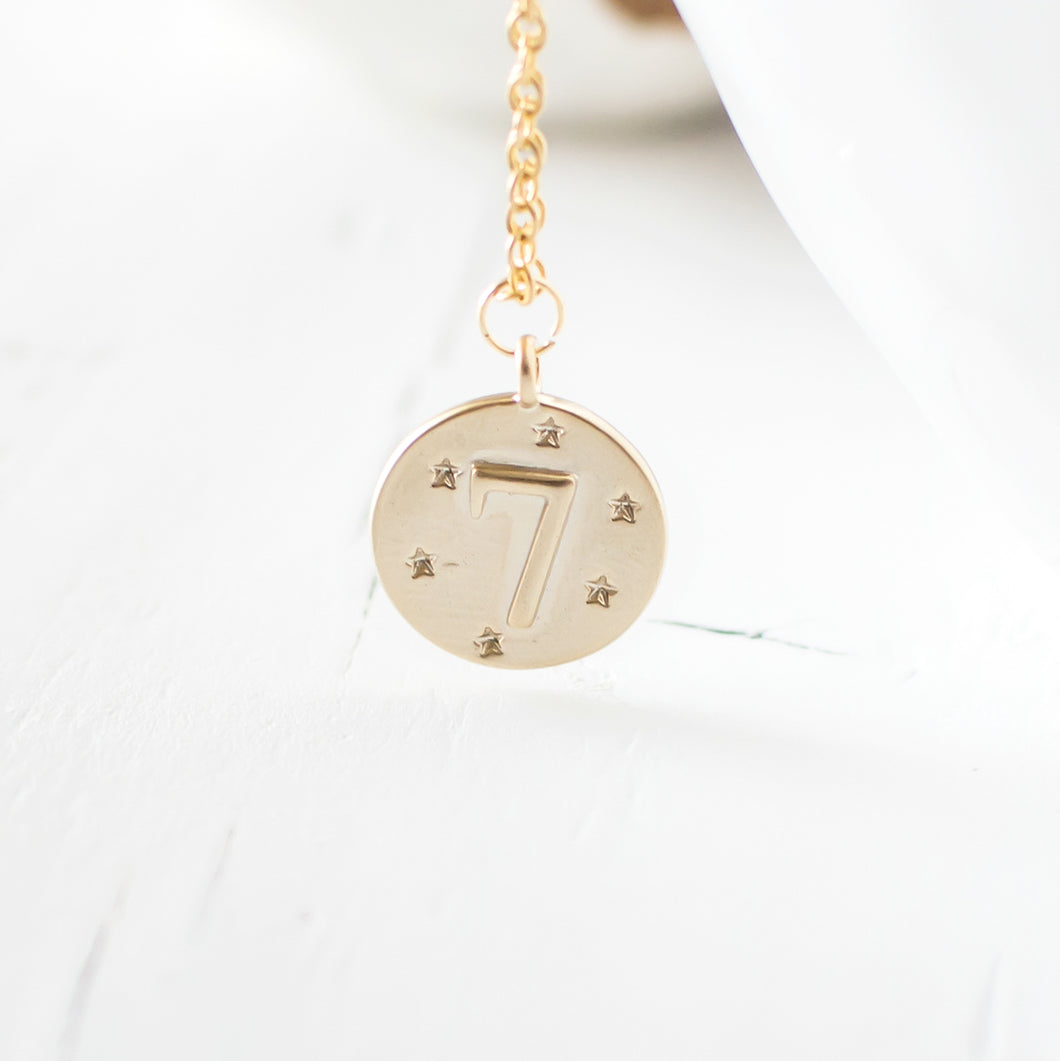 Lucky Number Seven Necklace