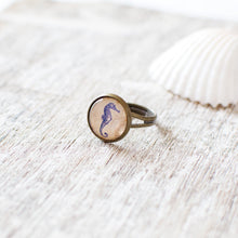 Nautical Seahorse Ring
