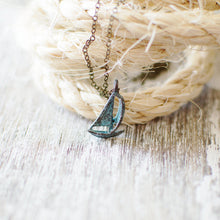 Sailing Boat Charm Necklace
