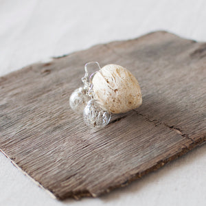 Dandelion Seed Earrings