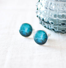 Dark Blue Galaxy Cufflinks