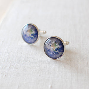 Planet Earth Cufflinks