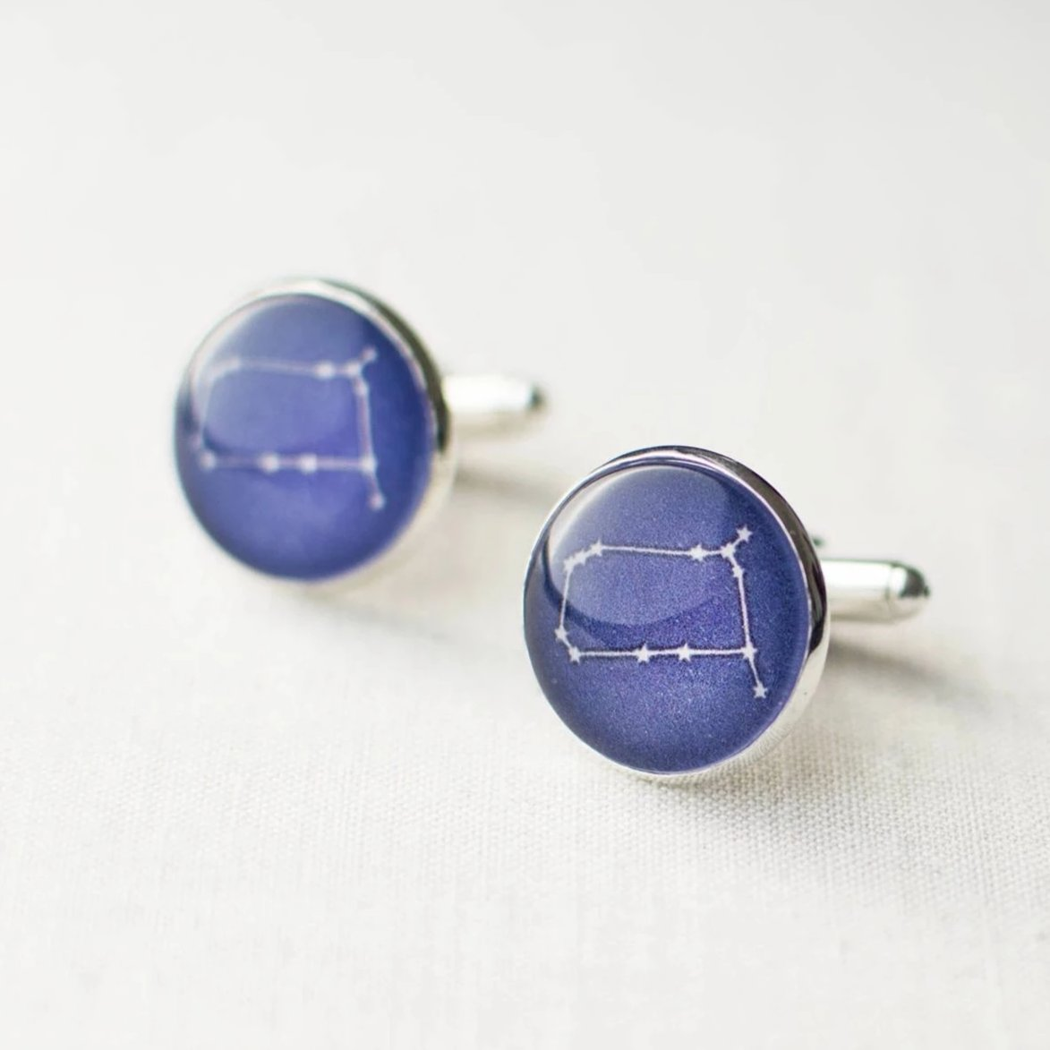 Gemini Constellation Cufflinks