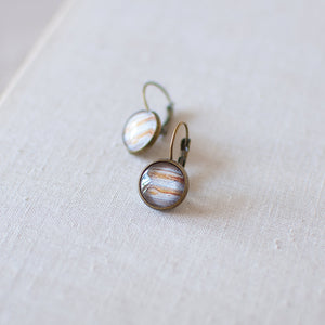 Planet Jupiter Earrings