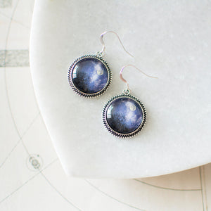 Moon Above the Trees Earrings