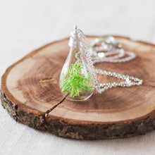 Real Moss Necklace