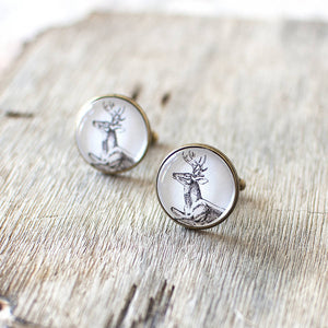 Deer Cuff Links