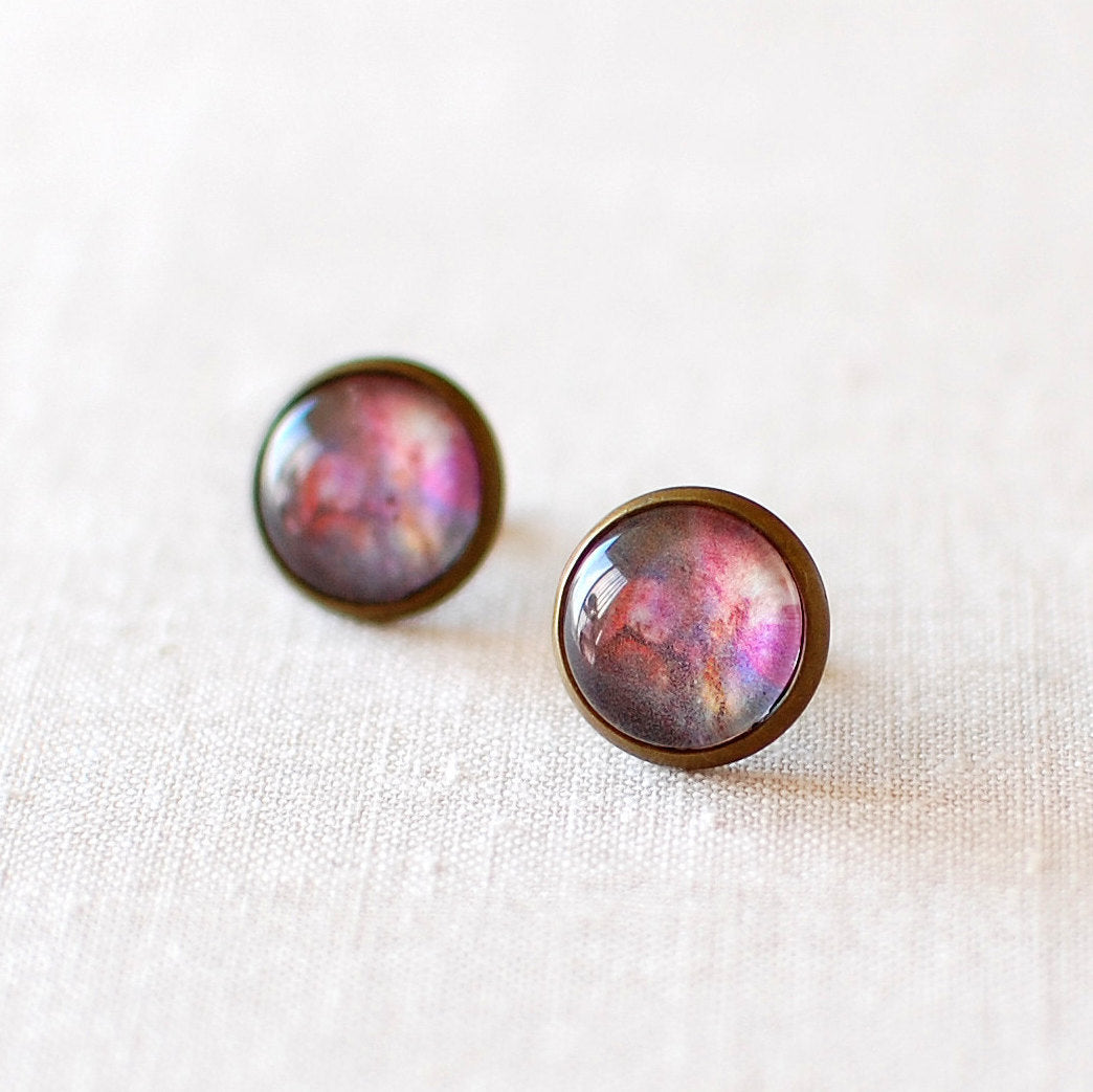 Orion Nebula Earrings