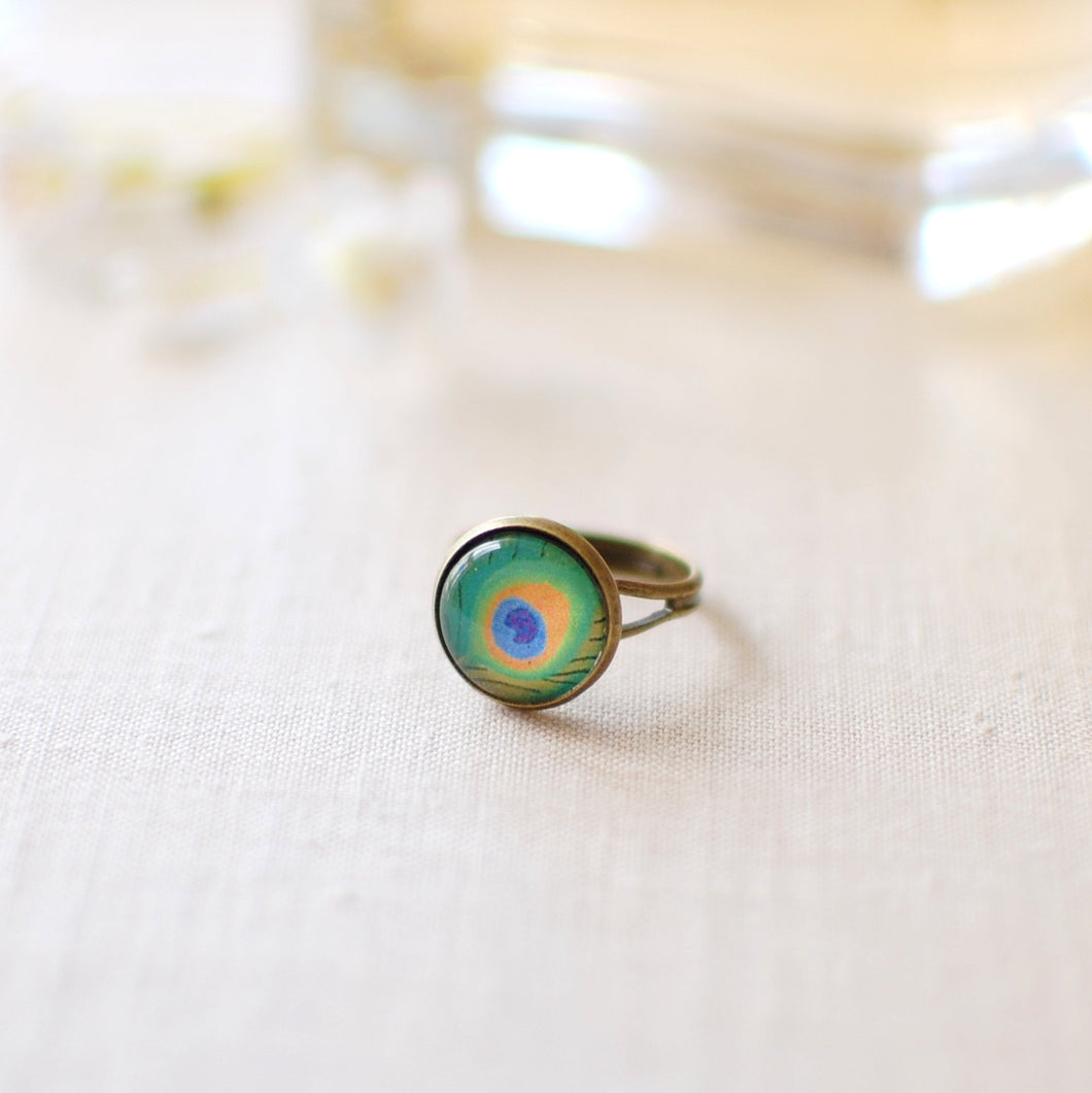 Peacock Ring