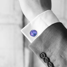 Purple Galaxy Cufflinks