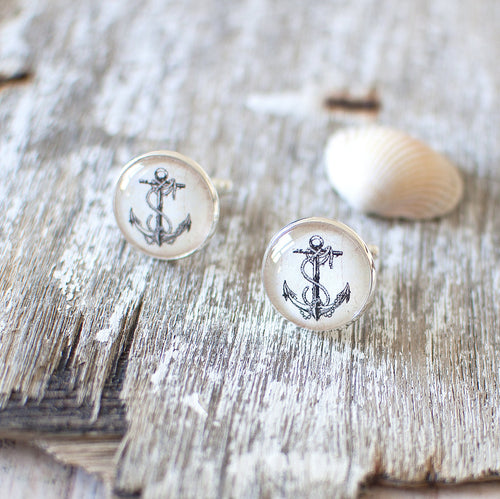 Vintage Anchor Cufflinks