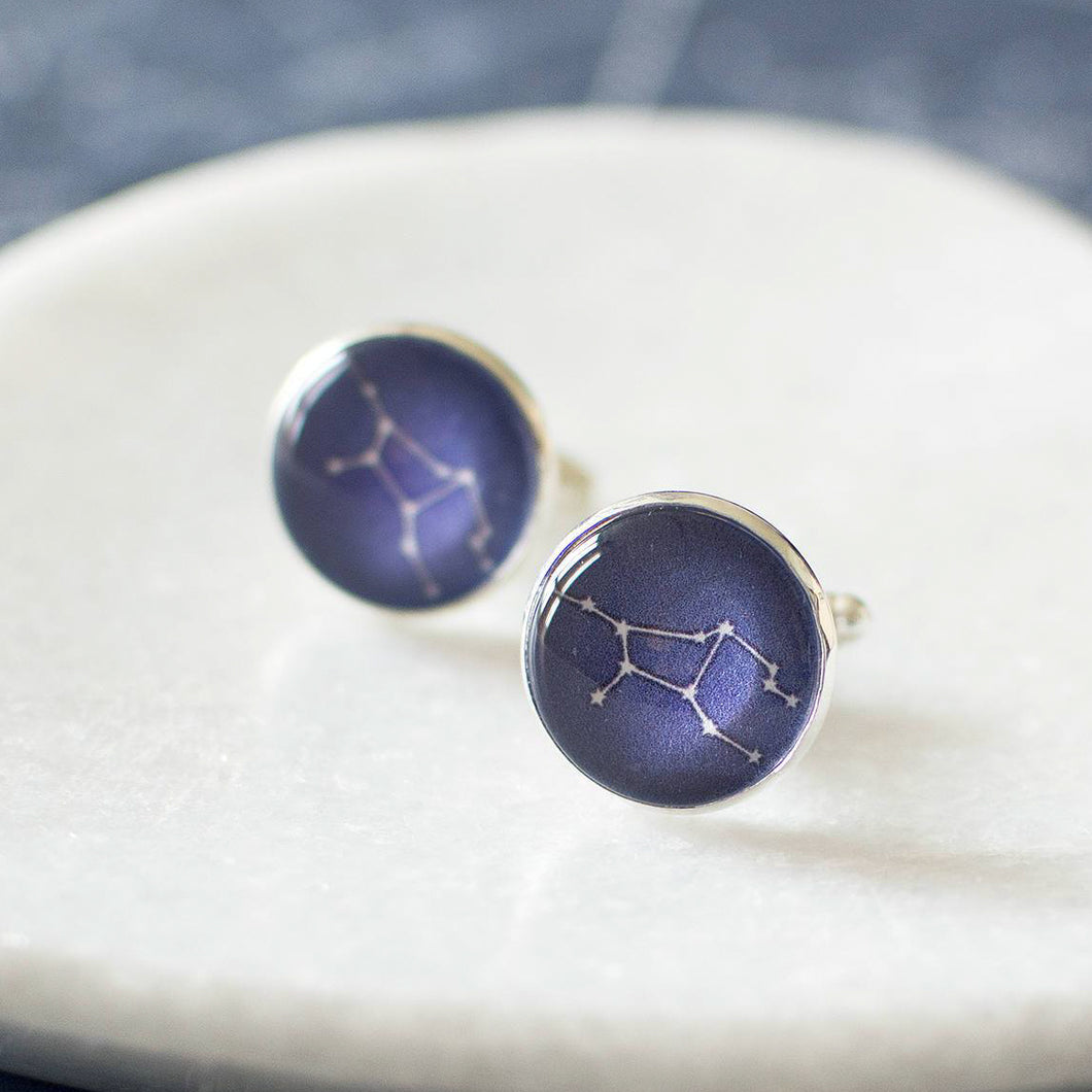 Virgo Constellation Cufflinks