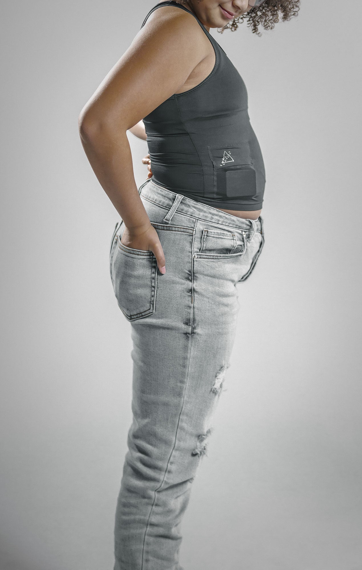 Youth Insulin Pump Pocket Scoop Tank