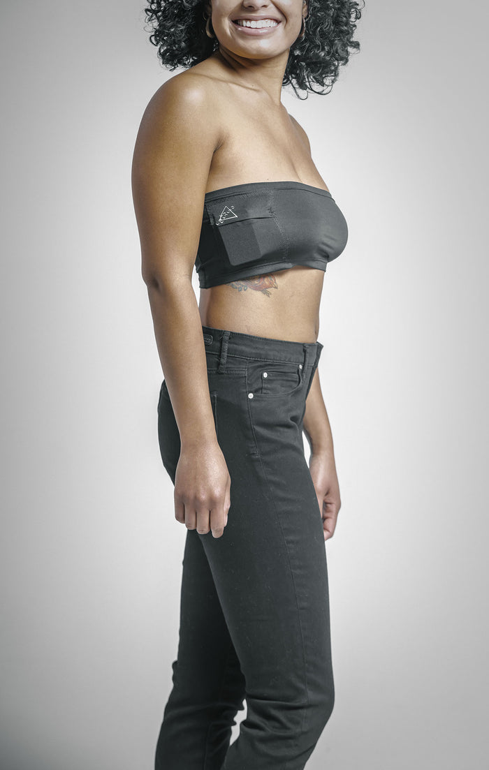 Adult Insulin Pump Pocket Band - Athletic