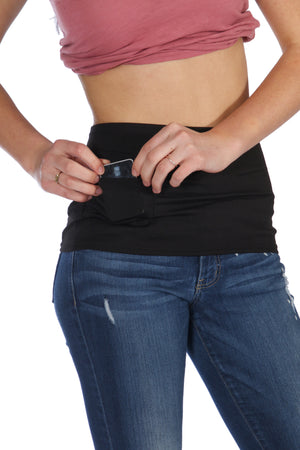 Insulin Pump Pocket Layering Band by Pocket Innerwear