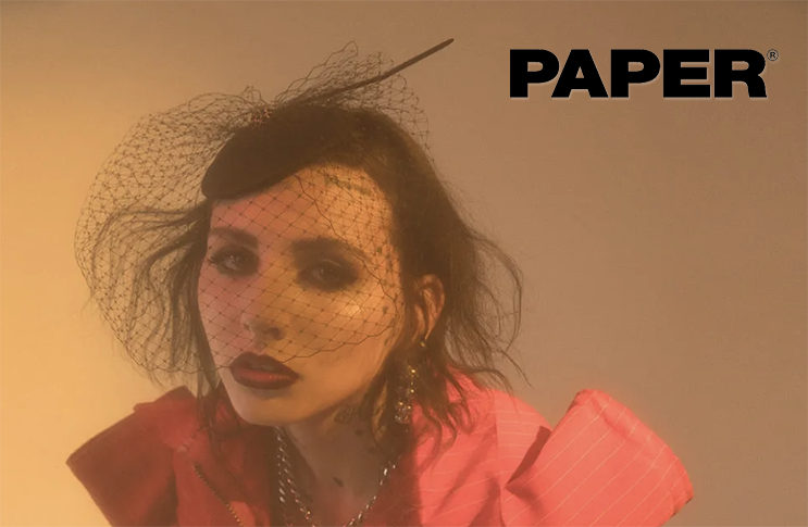 Bijou Van Ness Featured on Artist TOOPOOR in Paper Magazine