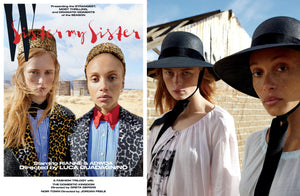 Featured: The Empress Hat in W Magazine Volume 2 Cover Story