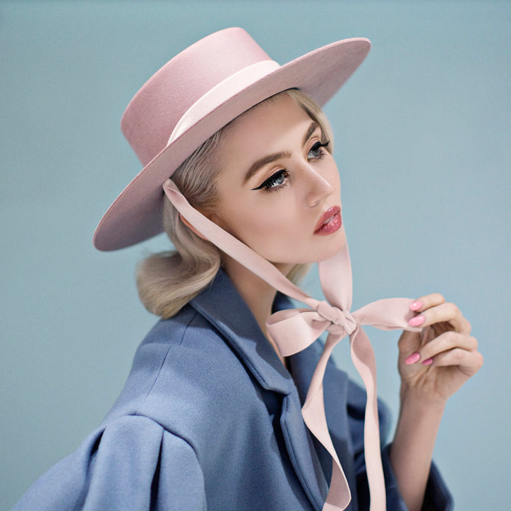 Bijou Van Ness heiress hat blush allison harvard