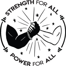 Strength For All / Power For All Cropped T-Shirt