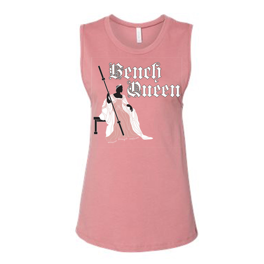 Bench Queen Mauve Muscle T
