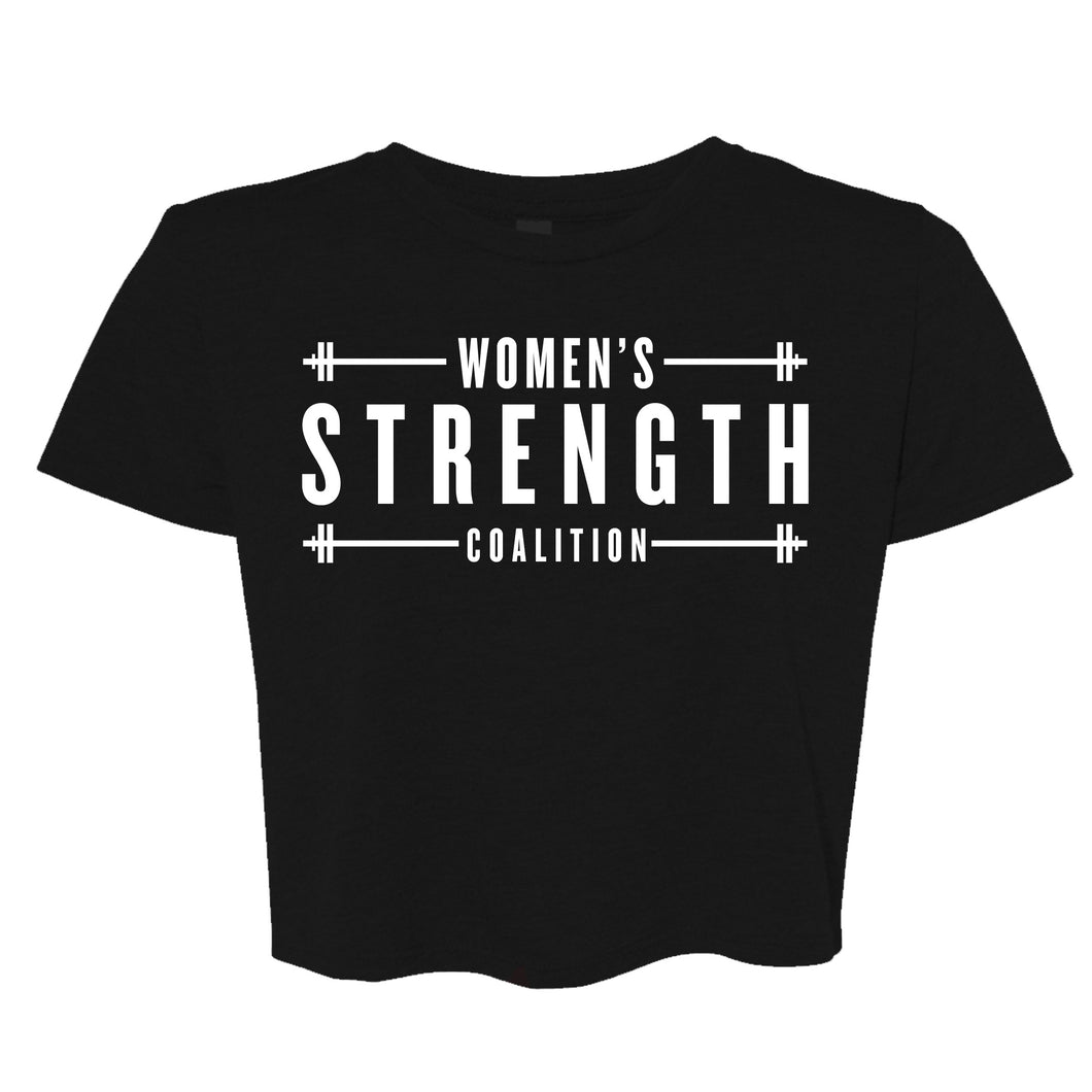 Women's Strength Coalition Cropped T-Shirt