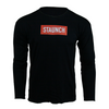 STAUNCH RAW CUT LONG SLEEVE [BLACK]