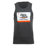 STAUNCH REPUBLIC MEN'S TANK [GREY]