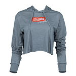 STAUNCH SHEILA CROPPED HOODIE [GREY]