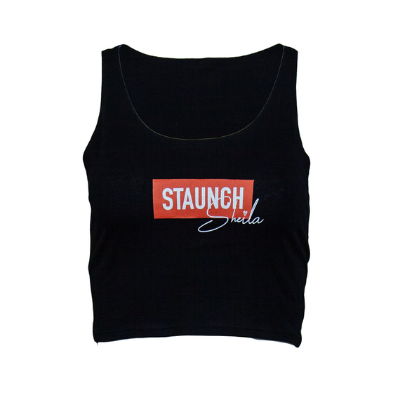 STAUNCH SHEILA CROP [BLACK]