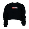 STAUNCH SHEILA CROPPED LONG SLEEVE SWEATER [BLACK]