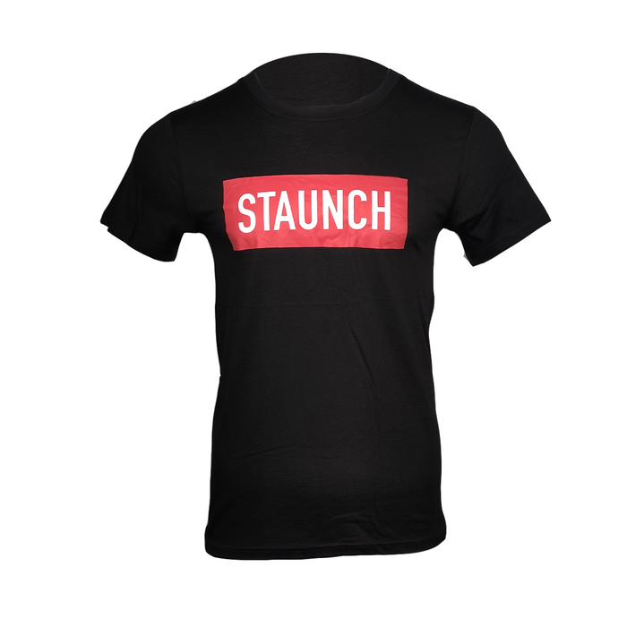 STAUNCH OFFICIAL T SHIRT [BLACK]