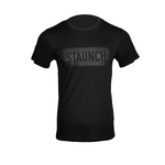 STAUNCH OFFICIAL T SHIRT [BLACK/BLACK]