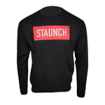 STAUNCH CREW SWEATER [BLACK]