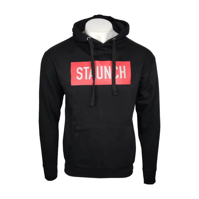 STAUNCH PULL OVER HOODIE [BLACK]